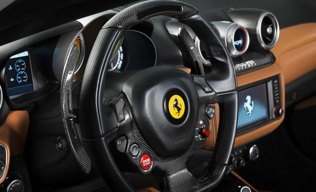 Ferrari GTC4 Lusso F1 Racing Shift Paddles, in Glossy &/or Matte Carbon Fiber