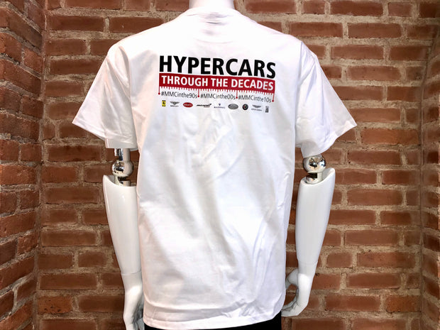 Miller Motorcars Hypercars Through the Decades T-Shirt