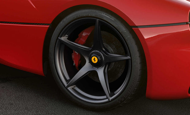 "LaFerrari 20"" Wheels Matte Black"