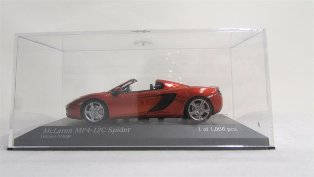 McLaren MP4-12C Spider 1:34 Model (Burnt Orange)