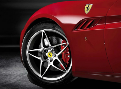 "Ferrari California 20"" Forged Diamond Wheel Kit"