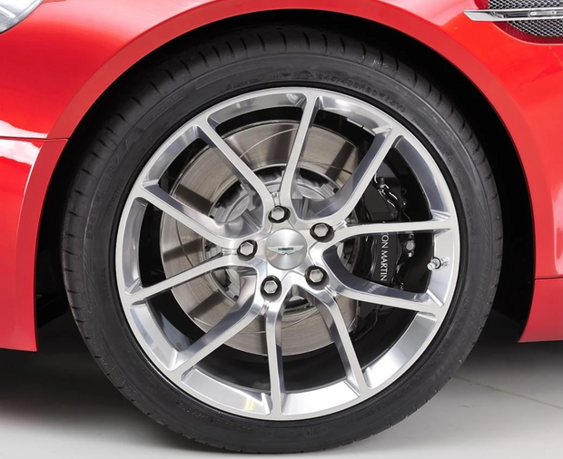 Rapide Polished 10-Spoke Wheels