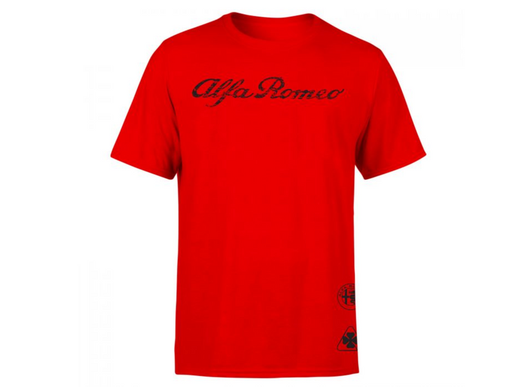 Alfa Romeo Men's Triple Logo T-shirt