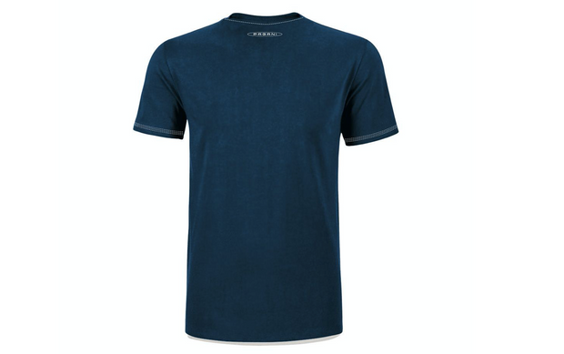 """Huayra Roadster"" Men's T-shirt with Pocket Blue"