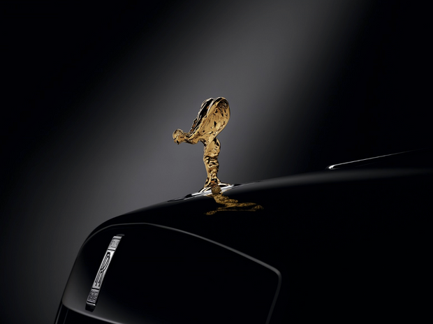 Phantom 9-Carat Gold Plated Spirit of Ecstasy