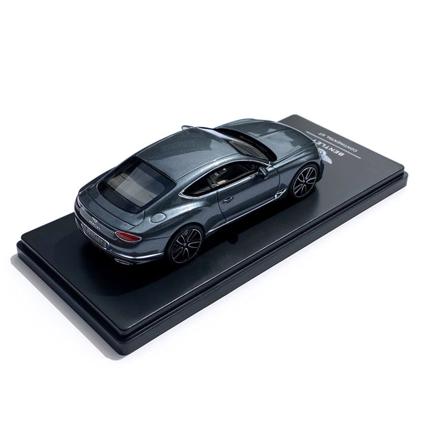 Bentley Continental GT 1:43 Scale Model, Storm Grey