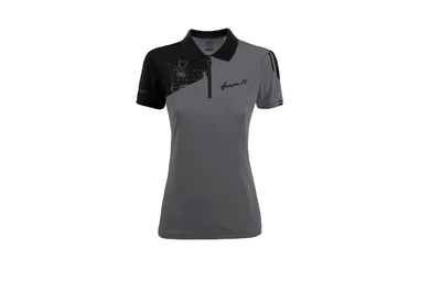 Pagani BC Collection Polo Women (Dark Gray)
