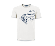 "Pagani ""Huayra Roadster"" White Men's T-Shirt"