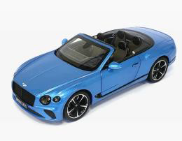 1:18 Continetal GT Convertible -Kingfisher Blue