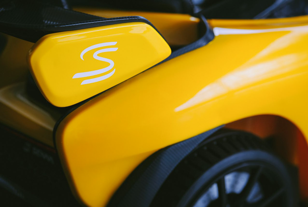 McLaren Senna Ride-On (Volcano Yellow)