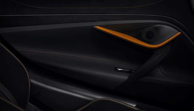McLaren 720S Carbon Fiber Door Finisher Trim