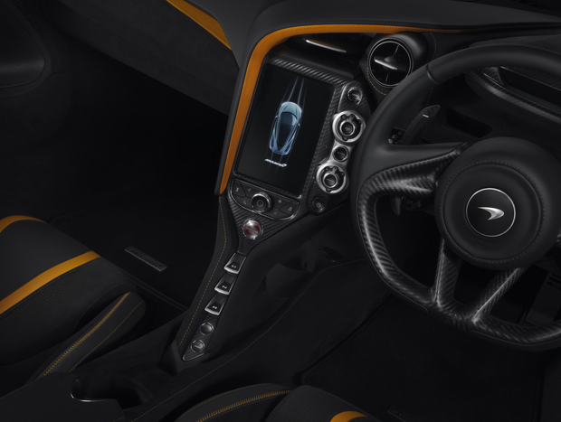 McLaren 720S Carbon Fiber infotainment Screen Surround