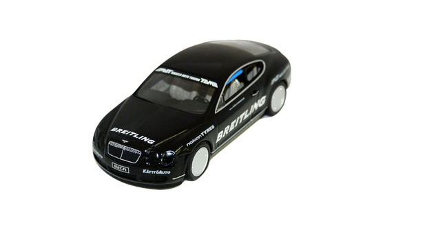 Bentley Continental GT 1:43 Scale Model, Black