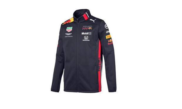 Aston Martin Red Bull Racing Replica Team Men's Softshell Jacket