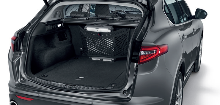 Stelvio Rear Seatback Cargo Net