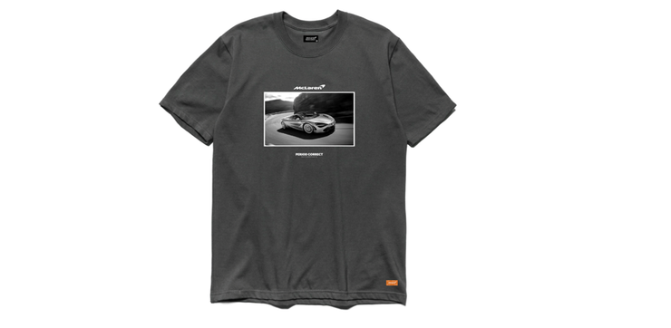 McLaren Period Correct Grey Shirt