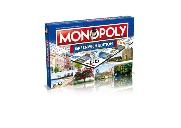 Greenwich Monopoly Board Game