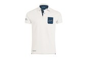 "Pagani ""Huayra Roadster"" Men's Off White Polo Shirt"