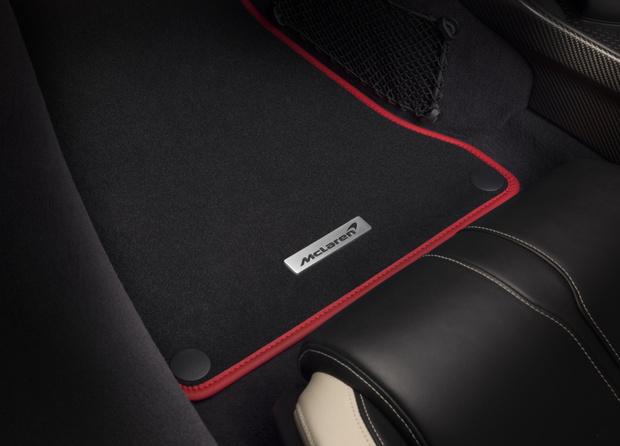 720S Colored Floor Mats