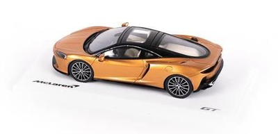 McLaren GT 1:43 Scale Model, Burnished Copper