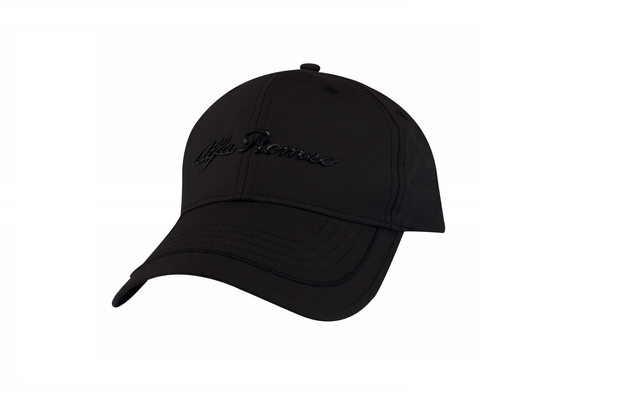 Alfa Romeo Black Athletic Cap