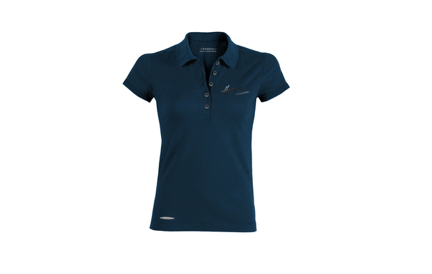 "Pagani ""Huayra Roadster"" Women's Blue Polo Texture"