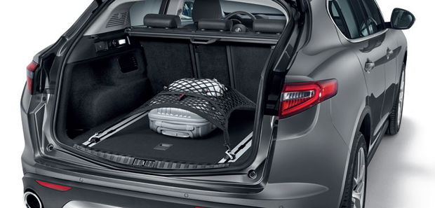 Stelvio Trunk Floor Cargo Net