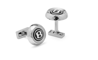 Bentley Facet-Knurling Cufflinks