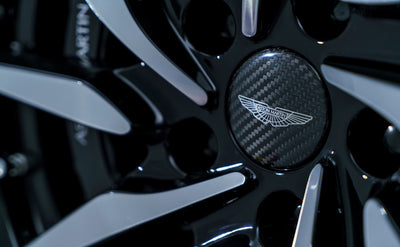 Aston Martin Carbon Fiber Center Caps