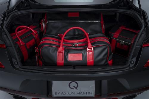 Q By Aston Martin Personalized Luggage