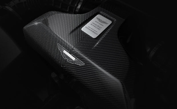 New Vantage Carbon Fiber Engine Cover