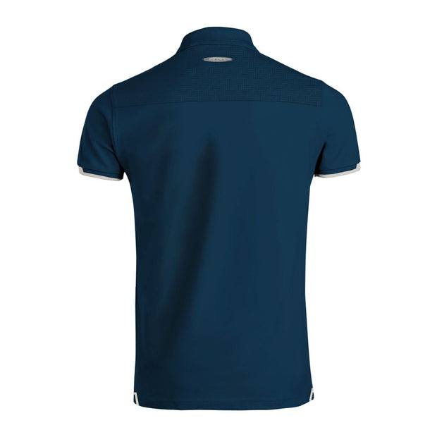 """Huayra Roadster"" Men's Blue Polo"