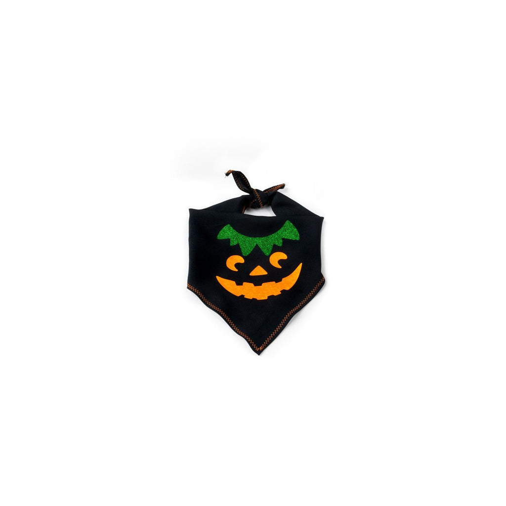 Pumpkin Boy Pet Bandana