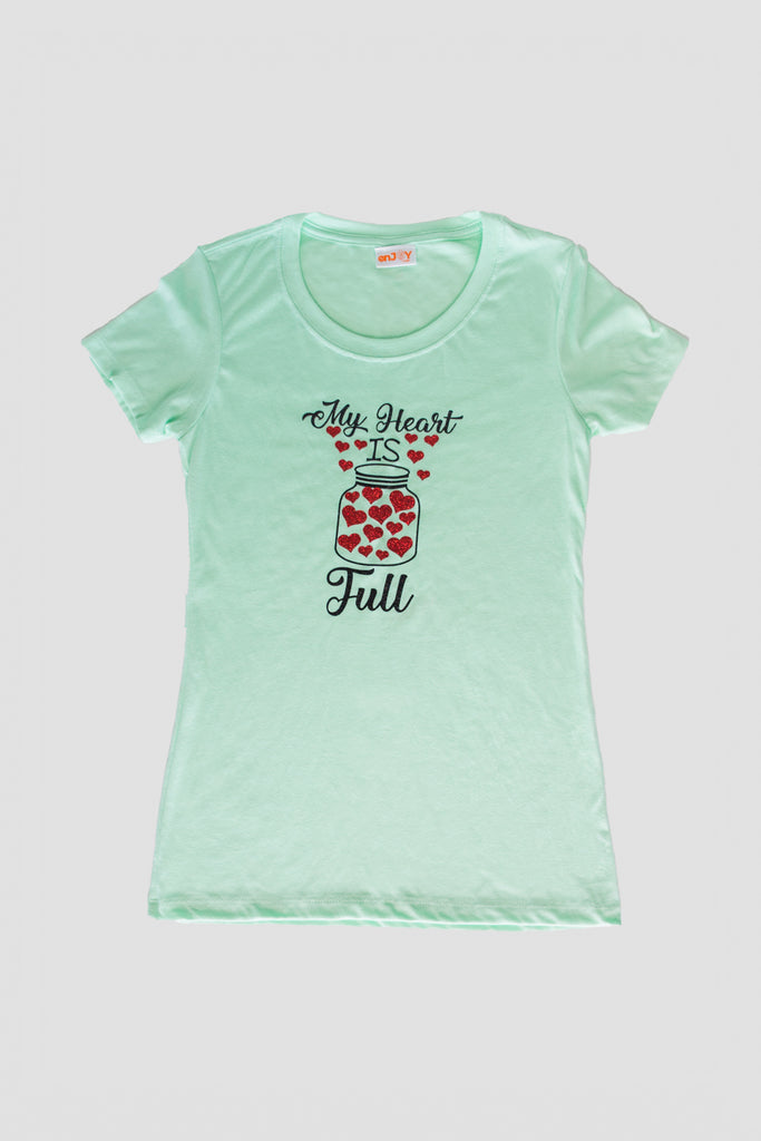 My Heart is Full - T Shirt
