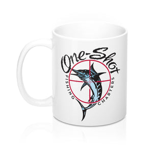 """One-Shot"" Coffee Mug 11oz"