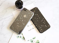 Splendid twinkle stars silicone iPhone case