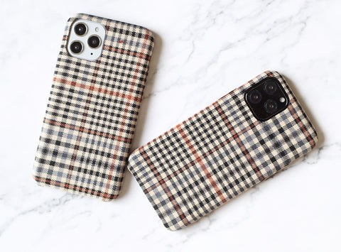 Classic plaid flannel iPhone case iPhone 11 case