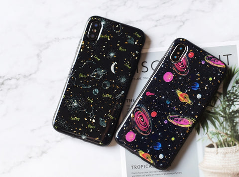 Marvelous galaxy space pattern iPhone case