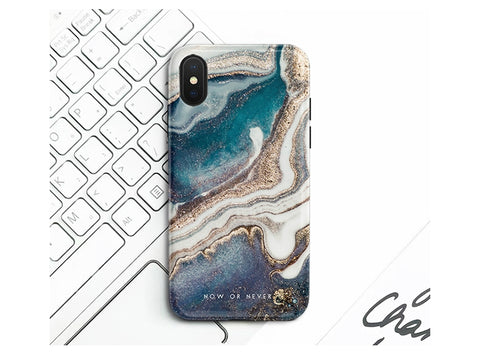 casealpha - Gorgeous natural seacoast marble pattern iPhone case Huawei Phone case w grip - CaseAlpha - Phone Case / Silicone