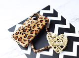 casealpha - Leopard print pattern plush material iPhone case iPhone 11 case - CaseAlpha - Phone Case / Silicone