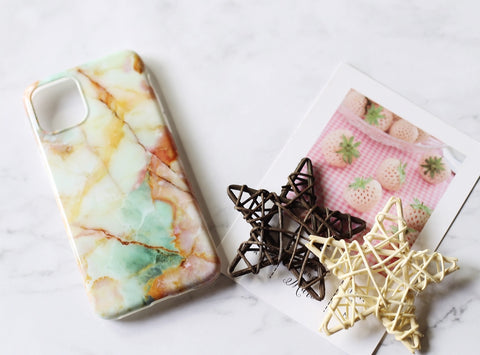 casealpha - Vivid colorful marble pattern iPhone case iPhone 11 case - CaseAlpha - Phone Case / Silicone