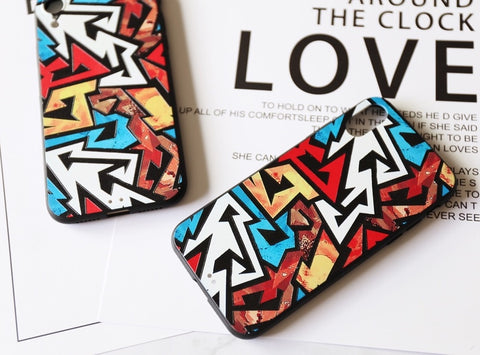 casealpha - iPhone case 3D color arrows design Phone case - CaseAlpha - Phone Case / Silicone