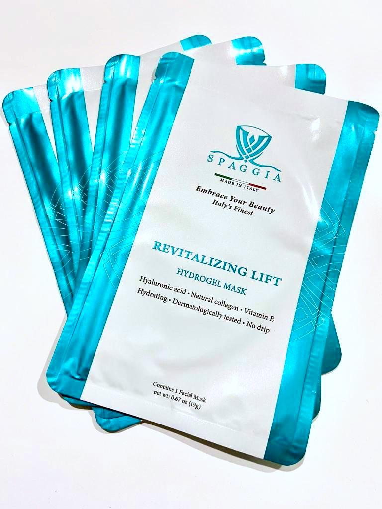 HYDROGEL MASK REVITALIZING LIFT (single mask or 4 pack)