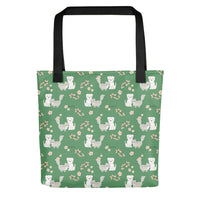 Kitten And Dog Besties Tote bag