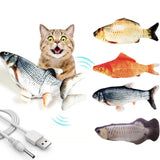 Moving Fish Interactive Cat Toy