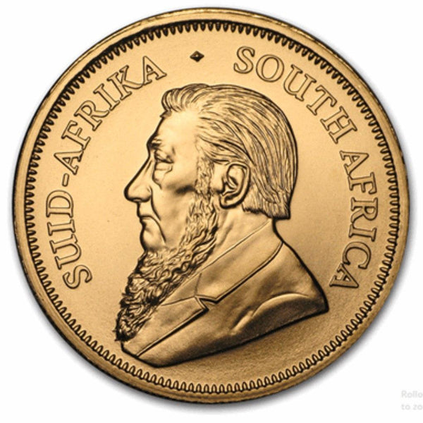 Gold South African Krugerrand 1/4-oz