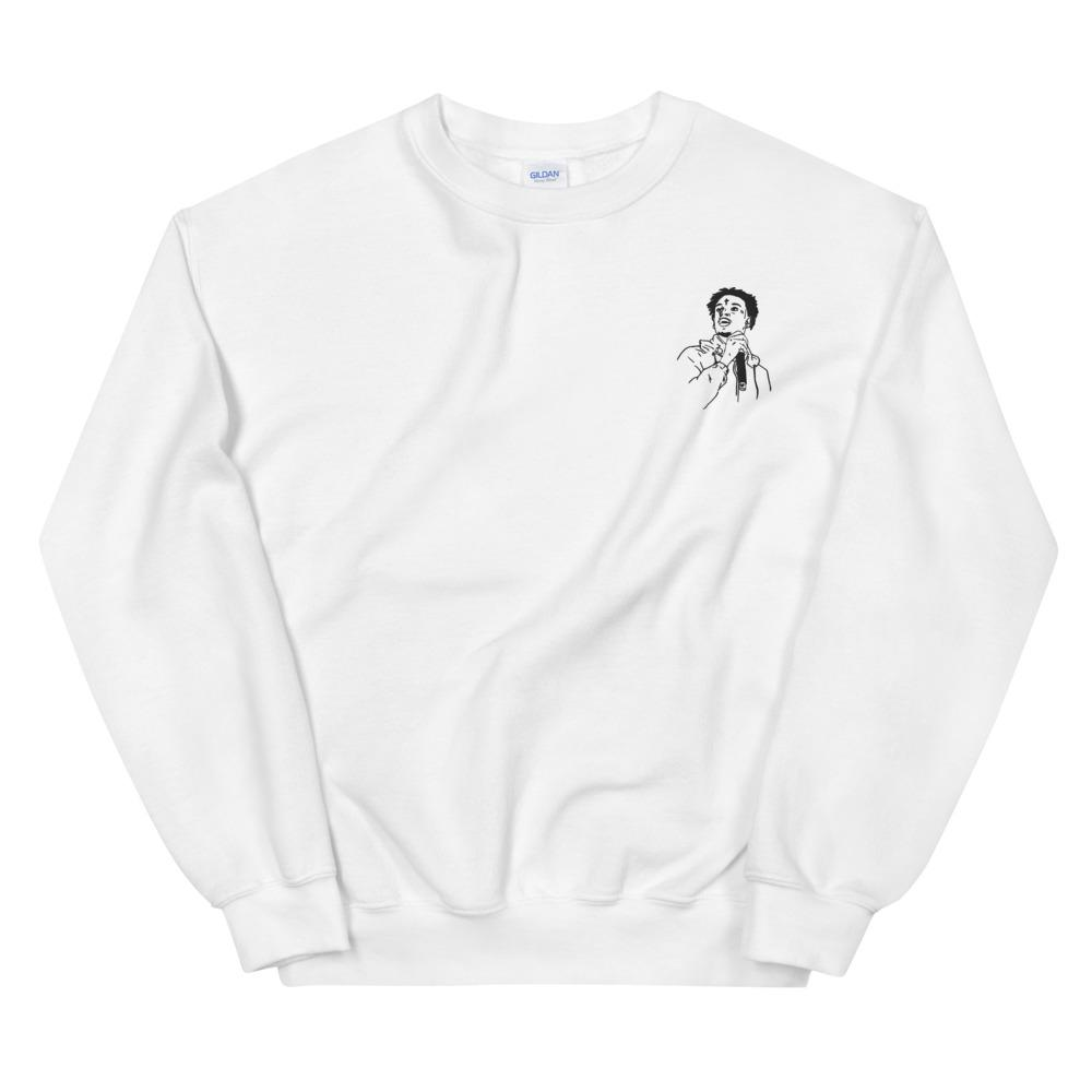 21 Savage Embroidered Sweatshirt