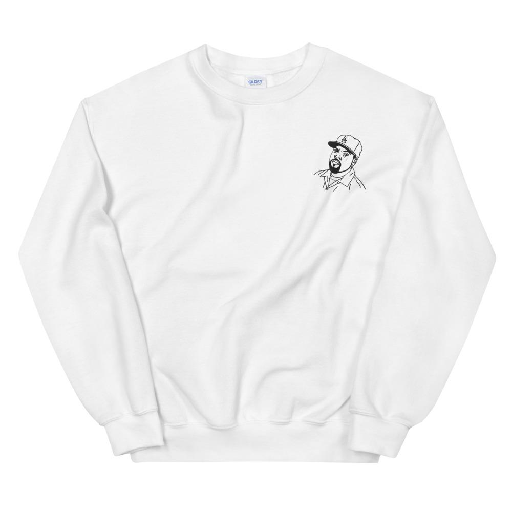 Ice Cube Embroidered Sweatshirt