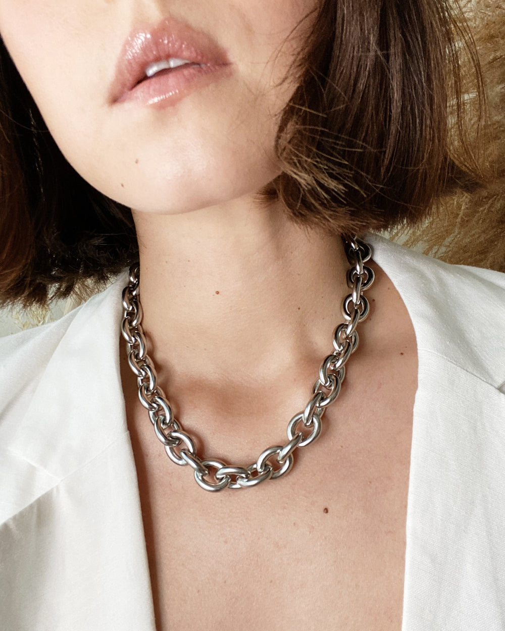 DAPHNE Necklace Silver
