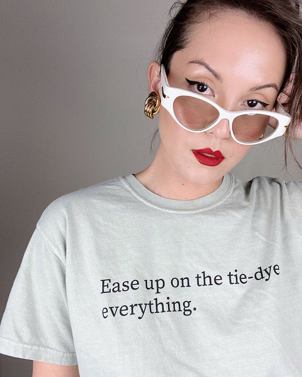 Ease Up Tee - Olive
